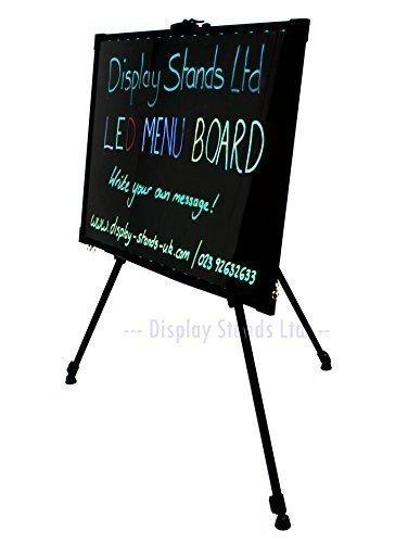 Personalizable LED Pantalla con trípode 70 x 50